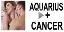 Aquarius + Cancer Compatibility