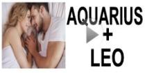 Aquarius + Leo Compatibility