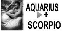 Aquarius + Scorpio Compatibility