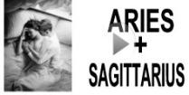 Aries + Sagittarius Compatibility