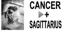 Cancer + Sagittarius Compatibility