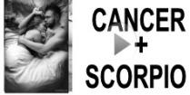 Cancer + Scorpio Compatibility