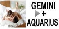 Gemini + Aquarius Compatibility