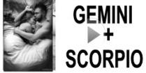 Gemini + Scorpio Compatibility