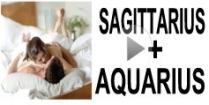 Sagittarius + Aquarius Compatibility