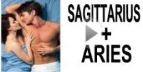 Sagittarius + Aries Compatibility