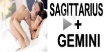 Sagittarius + Gemini  Compatibility