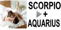 Scorpio + Aquarius Compatibility